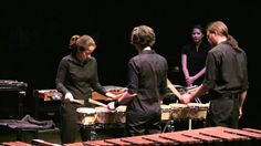 Steve Reich - Drumming movement 1