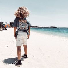 "Tiny Style • Noosa Kids on Instagram: ""Those beach vibes ✌🏼 hope everyone's having an epic weekend! . . . . Fab pic by @alaskandustin 😍 #converse #hightops #kidsconverse…"""