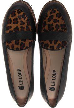 e714e4c79ad Le Loup - Mocasines Moca negro y print Loafers