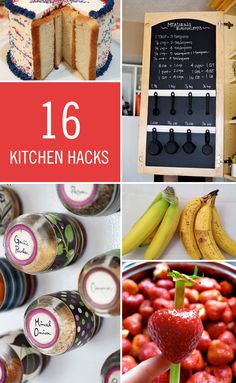 Instead of telling you to reach for unreachable expectations, we're giving you a few ways to cheat on daily activities to make your life easier. Keep your cakes from going stale, remove strawberry stems, keep your bananas fresh, cut potatoes quickly, and simplify your life across the board. Click on for kitchen and life hacks.