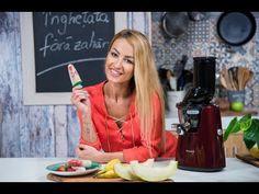 Inghetata cu fructe (fara zahar) cu Flavia Mihasan | Kuvings - YouTube Sweets, Tableware, Youtube, Dinnerware, Gummi Candy, Candy, Tablewares, Goodies, Dishes