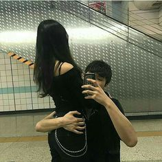 couple, ulzzang, and asian image Daddy Aesthetic, Couple Aesthetic, Korean Ulzzang, Ulzzang Boy, Cute Couples Goals, Couple Goals, Cute Korean, Korean Girl, Grunge Couple