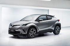 Toyota C-HR Unveiled at the Paris Motor Show