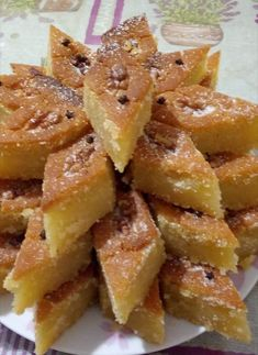 Mediterranean Recipes, Greek Recipes, Apple Pie, French Toast, Recipies, Food And Drink, Ice Cream, Sweets, Vegan