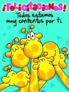 Frases de cumpleaños. Frases de cumpleaños para compañeros Illustrations And Posters, Dear Friend, Happy Day, Winnie The Pooh, Congratulations, Friendship, Funny Pictures, Happy Birthday, Feelings