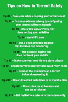 Are you downloading torrents frequently? Then, you must read the tips listed below on how to torrent safely! #security #privacy #torrenting