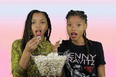 New party member! Tags: popcorn diversity black girl magic blackgirlmagic chloe x halle chloe and halle riveted