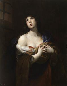 Saint Agatha (c.1635). Andrea Vaccaro (Italian, 1604-1670). Oil on canvas. Prado…