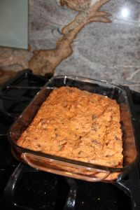 Sweet Potato Brownies! Love at first bite (need some modifications.... But a great idea!)