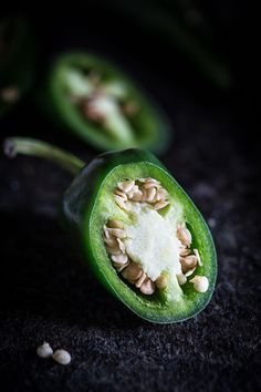 Jalapenos - Raw photography challenge via .Simone van den Berg