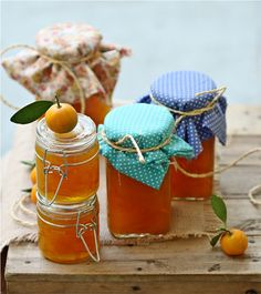 Passionate About Baking Greek Recipes, Whole Food Recipes, Dessert Recipes, Kumquat Tree, Kumquat Recipes, Marmalade Jam, Pots, Jam And Jelly, How To Make Jam