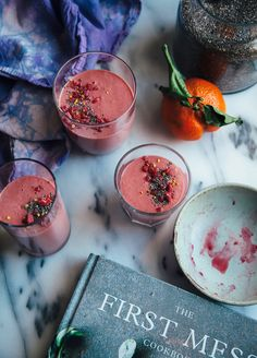 Hot Pink Beet Protein Smoothie from The First Mess Cookbook