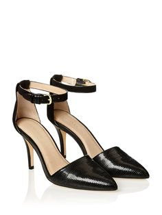 Image for Jazzie Point Ankle Strap Heel from Portmans