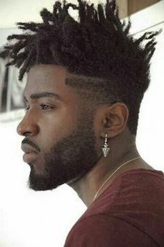 High Top Locs Hot Locs Pinterest Locs High Tops And Style Dreads On Guys With Just The Top Dreaded