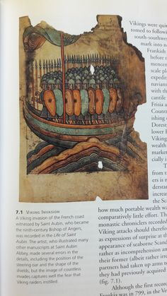 "Hope you don't have to pee during this Viking invasion...read the caption for more info! (image from ""Vikings: The North Atlantic Saga"" By William W. Fitzhugh and Elisabeth I. Ward, pg 111)"