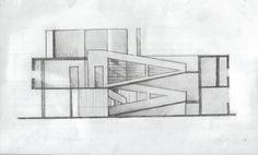 Plan Le Corbusier Villa Savoye Lego