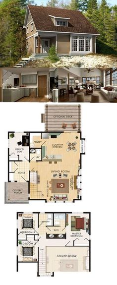 Cabins And Cottages: Beaver Homes Cottages - Bolero :: 1462 sq. ft.