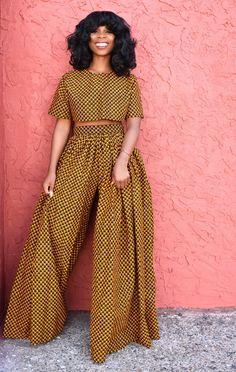 Africa Fashion 368943394476602131 - Era Palazzos African Print African Fashion Source by carinendaya African Fashion Ankara, African Inspired Fashion, Latest African Fashion Dresses, African Dresses For Women, African Print Fashion, Africa Fashion, African Attire, Fashion Prints, African Prints