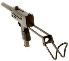 Rare Deactivated Ingram MAC-10 Machine Gun fitted with dummy suppressor. - Modern Deactivated Guns - Deactivated Guns