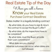 Tanjay Real estate Tip of The Day: