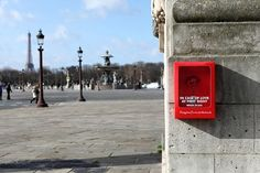 In Paris, 'Emergency' Flower Boxes Were Installed For Valentine's Day - DesignTAXI.com