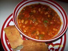 Adeni Style White Navy Beans [فاصوليا بيضاء مكشنة]