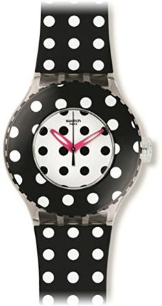 Women's Wrist Watches - Swatch DOTTAMI Unisex Watch SUUK107 ** Learn more by visiting the image link.