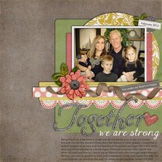 Created using You Raise Me Up by Trixie Scraps Designs