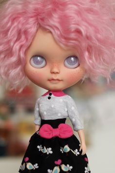 Hey, I found this really awesome Etsy listing at https://www.etsy.com/listing/222828249/spring-sale-blythe-skirt-shirt-set