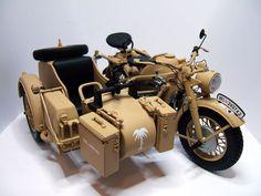 Miniatur Motor, Bmw Motorbikes, Afrika Korps, Harley Softail, Retro Motorcycle, Ww2 History, Vintage Motorcycles, Cool Trucks, Bike Life