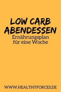Low Carb Abendessen hilft dir beim Abnehmen, da es ohne Kohlenhydrate auskommt. Hier findest du einen Ernährungsplan für eine ganze Woche!