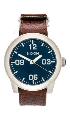 www.fashionmyloveit.com / Nixon The Corporal in Brown Air Price $125.00 / FASHION MY LOVE! ITALY