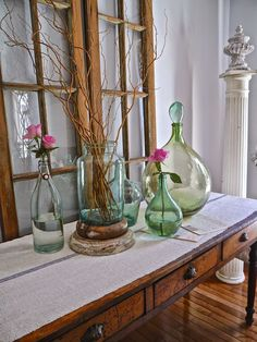 Chateau Chic: Family Room Spring Tour