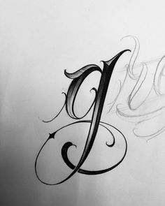 No photo description available. Alphabet Tattoo Designs, Tattoo Fonts Alphabet, Cursive Tattoos, Cursive Alphabet, Hand Lettering Alphabet, Calligraphy Tattoo Fonts, Chicano Lettering, Tattoo Lettering Fonts, Graffiti Lettering