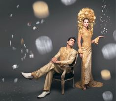 West Sumatra Bride and Groom Indonesia ethnic wedding