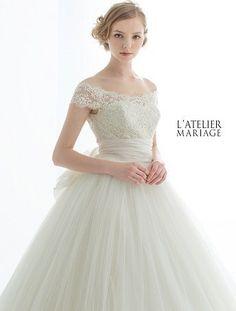 7bd877d6fe7c5 色あせない美しさ♡王道クラシックを極めたラトリエマリアージュのドレスが可愛すぎ♡