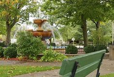 Cadillac City Park -- my hometown....pretty sure they have a chestnut festival in the park.  Love the festivities.