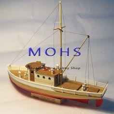 Wooden Model Boats, Wooden Boat Building, Wood Boats, Pirate Ship Wheel, Model Ship Building, Make A Boat, Boat Kits, Wooden Ship, Tug Boats