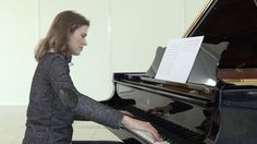 "Anna Sutyagina plays ""Rain"" by  Mikael Sapin"