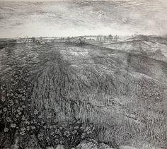 yama-bato Nikireev Stanislav (1932–2007) - etching