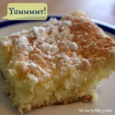 How to make Lemon Bars, an easy dessert recipe. A perfect blend of lemon tart and sweet, and so simple to make! Make your mouth happy with Lemon Bars.
