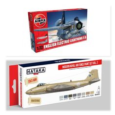 English Electric Lightning F6 1/72 Airfix (Combo-Pack)