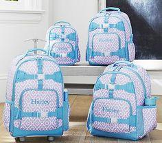Mackenzie Lavender Geo Backpacks #pbkids