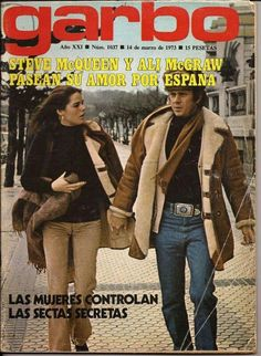 Steve and Allie Jane Birkin, Ali Macgraw Steve Mcqueen, Marlon Brando, Jack Nicholson, Ali Mcgraw, Preppy Style, My Style, Old Hollywood Stars, Classic Hollywood