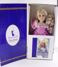 """Stardust Classics Kat the Time Explorer doll 18"""" with book NRFB Just Pretend New in Dolls & Bears, Dolls, By Brand, Company, Character   eBay"""