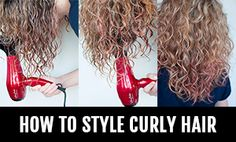 Edit: The response to this post has been amazing! I've just created a new video tutorial of how to style curly hair for frizz free curls. You can also check out all my other curly hair posts here. I love wearing my hair curly, but it took a long time to say that. My hair was...Read More »