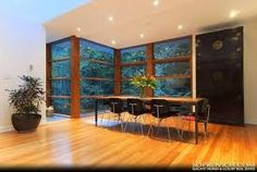 Interior and Exterior Design Home in Modern Sensation: Stunning Dining Room Furniture In House Designs Inside With Long Wooden Table And Som. Cullen House Twilight, Twilight New Moon, Twilight Movie, Exterior Design, Interior And Exterior, Interior Ideas, Glass House Design, Vancouver House, Mansions Homes