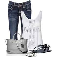 Cross Tank, created by denise-schmeltzer on Polyvore