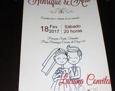 """""""PROMOÇÃO"""" Convite Henrique e Ana"""