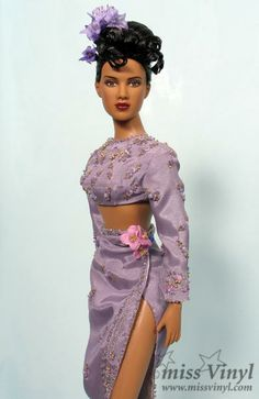 Diane in purple